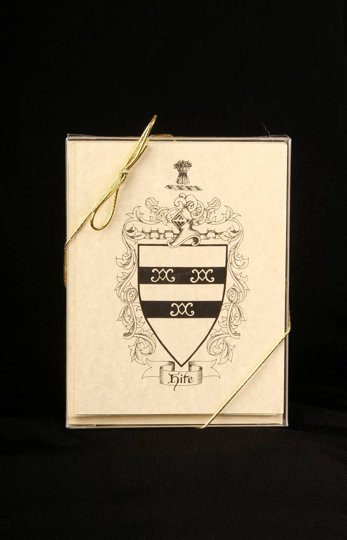 Hite Family Coat-of-Arms Notecards