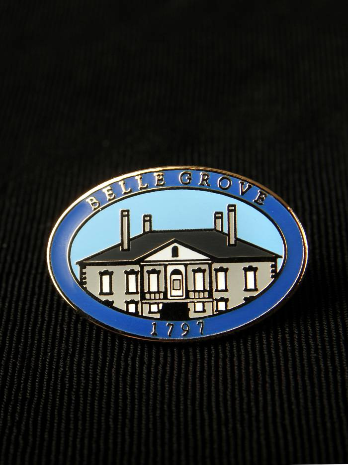 Belle Grove Lapel Pin