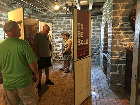 "Belle Grove Hosts Temporary Exhibit ""To Be Sold: Virginia and the American Slave Trade"""